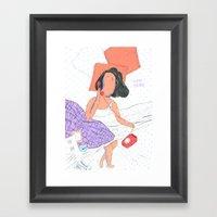 Vuelve Por Favor Framed Art Print