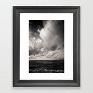 Summer Ver.black Framed Art Print