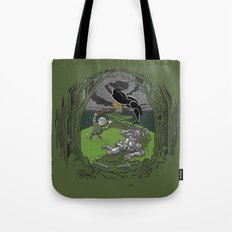 Happy Knight Tote Bag