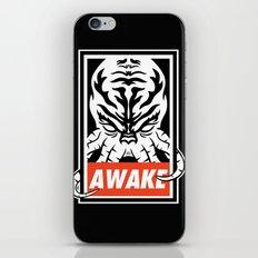 Awake. iPhone & iPod Skin