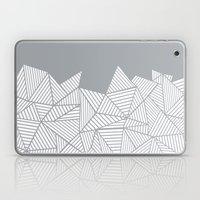 Abstract Mountain Grey Laptop & iPad Skin