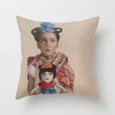 The Fridas Throw Pillow