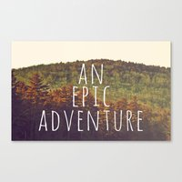 An Epic Adventure Canvas Print