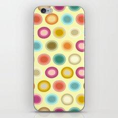 polka creamy iPhone & iPod Skin