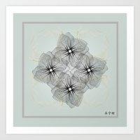 Fleuron Composition No. … Art Print