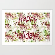 Happy Holidays To The St… Art Print