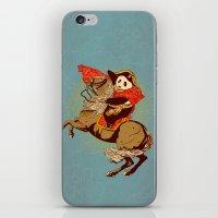 The Panda's Ride  iPhone & iPod Skin