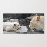 A Mothers Love . . . Whi… Canvas Print