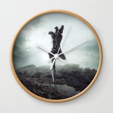To never, to no more. Wall Clock