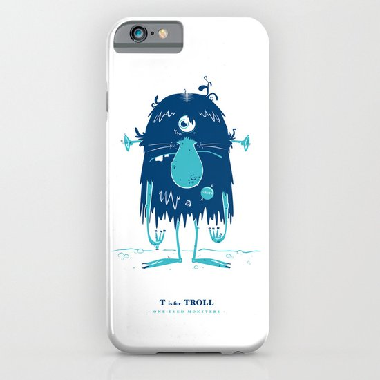 T is for Troll iPhone & iPod Case