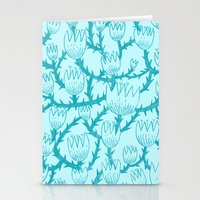 Mint Thorn Stationery Cards