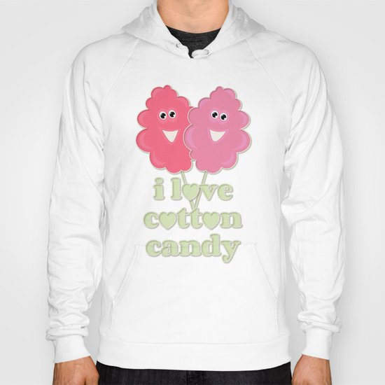 cute cotton candy Hoody