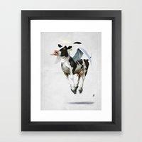 Holy Cow (wordless) Framed Art Print