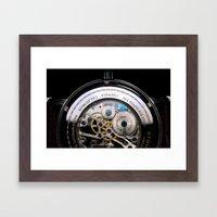 inner time Framed Art Print