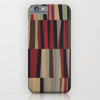 iPhone & iPod Case featuring Shifted Tracks I by Ted and Rose Design