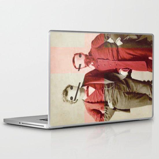 the backslash brothers Laptop & iPad Skin