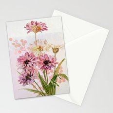 bouquet en rose Stationery Cards