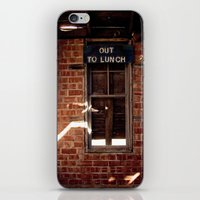 Out to Lunch iPhone & iPod Skin