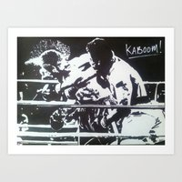 The Rumble Art Print
