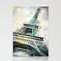 City-Art PARIS Eiffeltower IV Stationery Cards