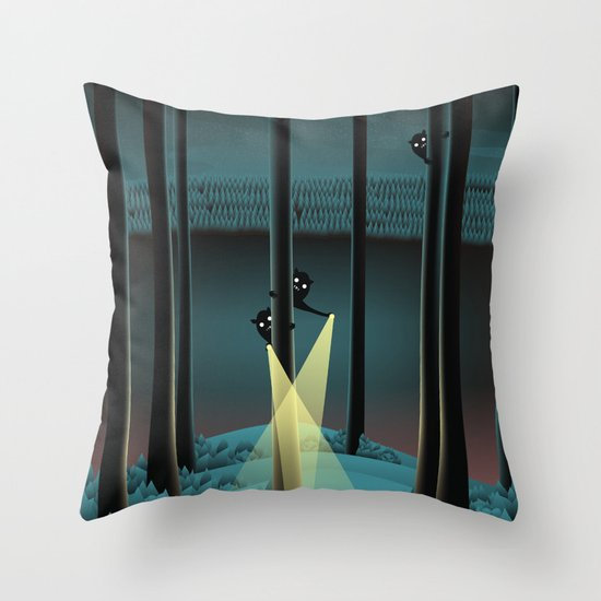Fuss (Where Are You?) Throw Pillow