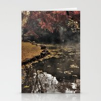 Lights and colors Stationery Cards