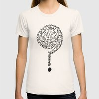 Everything Womens Fitted Tee Natural SMALL