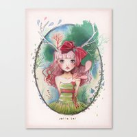 Jolie Toi Canvas Print