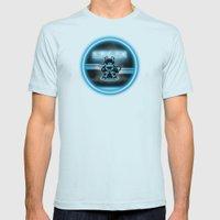BRAUN - The Bearginning Mens Fitted Tee Light Blue SMALL