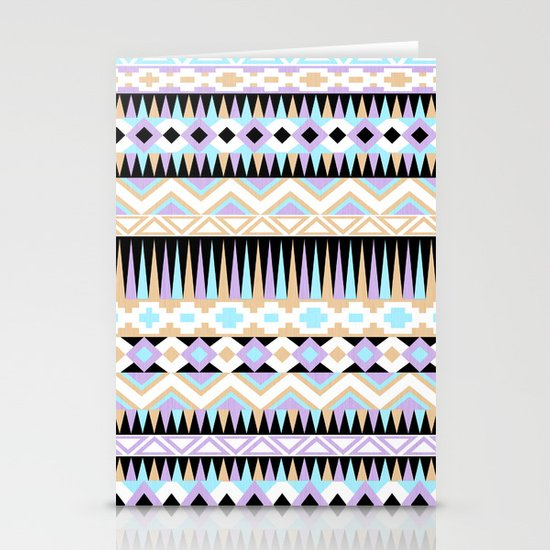 Pattern Play Stationery Card