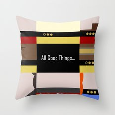 TNG - All Good Things - … Throw Pillow