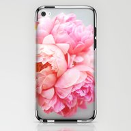 iPhone & iPod Skin featuring Peonies Forever by Ez Pudewa
