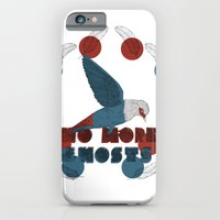 iPhone & iPod Case featuring No More Ghosts - Mauritius Blue Pigeon by Kathryn Corlett // Illustration and Desi