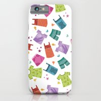 HER CLOTHES iPhone 6 Slim Case