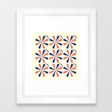 Lime Blossom Framed Art Print