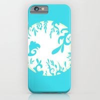 iPhone & iPod Case featuring Abstractly Blue  by MindyLouHagan