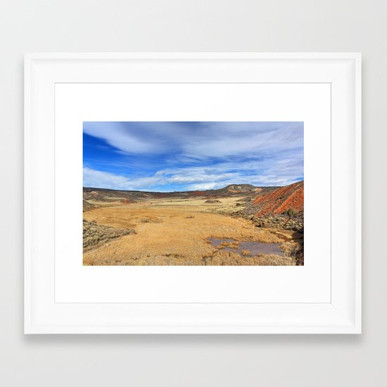 Larimer County Framed Art Print