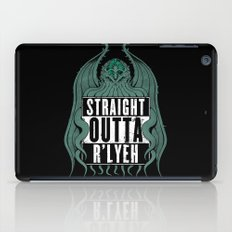 Straight Outta R'lyeh iPad Case