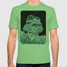 Darth's Treehouse  Mens Fitted Tee Grass SMALL