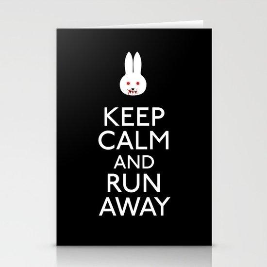 Run away Stationery Card