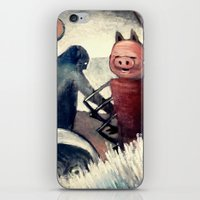 Absurd Composition iPhone & iPod Skin