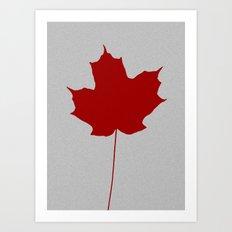 Leaf de jour Art Print