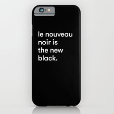 Le Nouveau Noir iPhone 6 Slim Case
