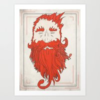 Beardsworthy Art Print