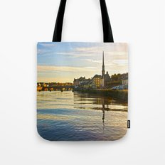 River Ayr in Autumn Tote Bag