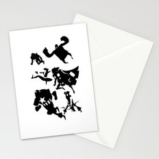 The Avengers Minimal Black and White Stationery Cards