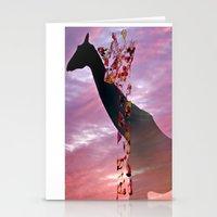 Goodnight Giraffes Stationery Cards