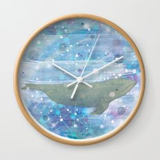 Illustration Friday: Round Wall Clock