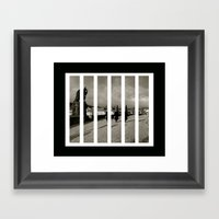 St Charles Bridge Framed Art Print