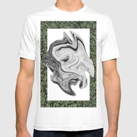 LIQUIDO Mens Fitted Tee White SMALL